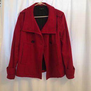 Gap Red Pea Coat